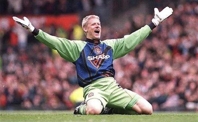Happy Birthday Peter Schmeichel. You ve been like a Dad to me (in that I haven t met you either) xx