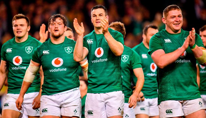 #WATCH Schmidt talks Ireland v All Blacks, where he gets his moves and looks ahead to World Cup 2019 - Photo