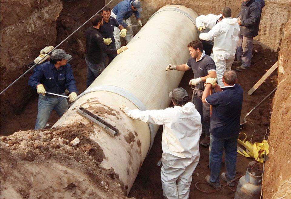 #SantaRosa | Se volvió a romper el acueducto del Río Colorado