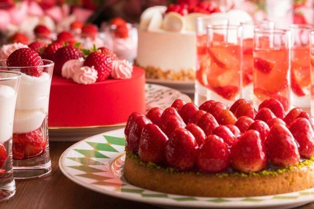 「いちごジャーニー」横浜ベイホテル東急のデザートブッフェ、約6銘柄のいちごの食べ比べも -