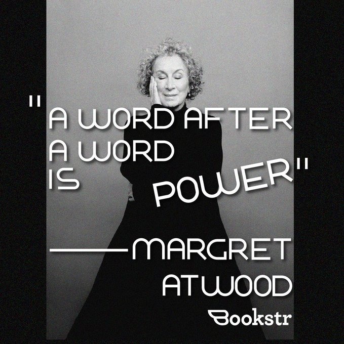 Happy birthday, Margaret Atwood!