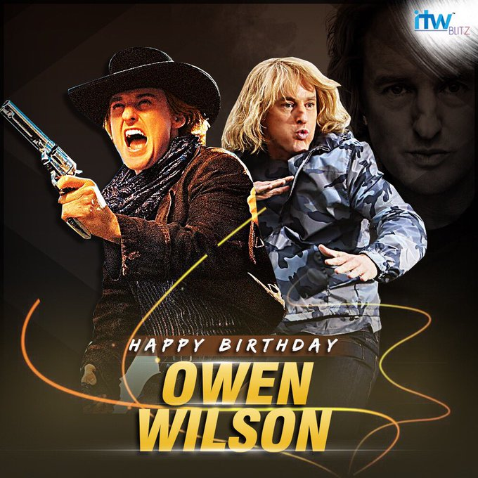 Wishing Owen Wilson a very happy birthday!