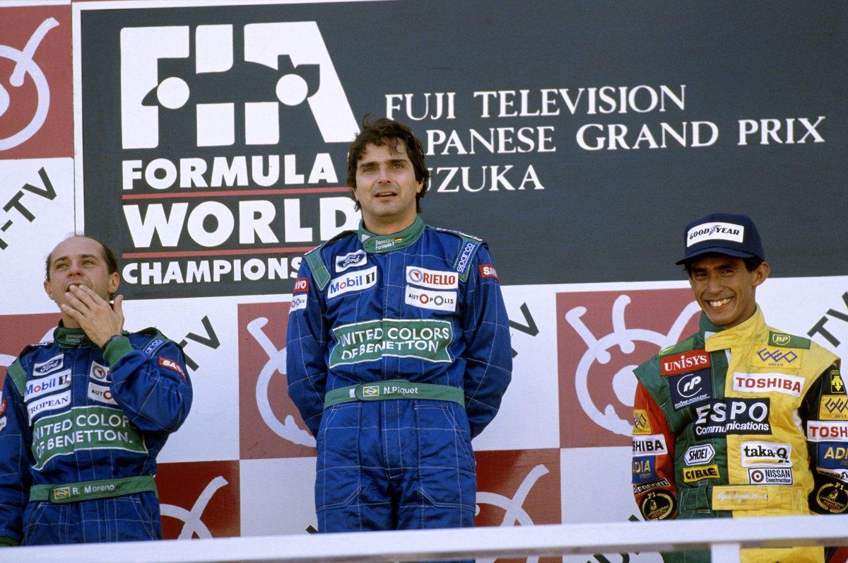 """To be the first Japanese driver on an F1 podium was very special""  This week's Sunday Conversation is with 90s trailblazer Aguri Suzuki >> https://f1.com/Suzuki  #F1"