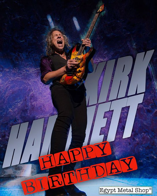 Happy Birthday Kirk Hammett! What\s your favorite Kirk Hammett solo?