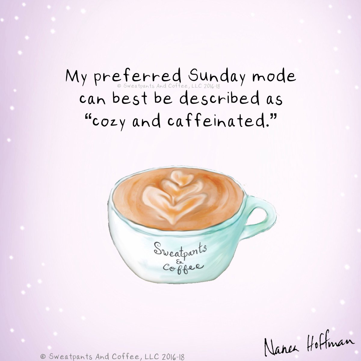 sweatpants coffee on happy sunday coffee coffeetime