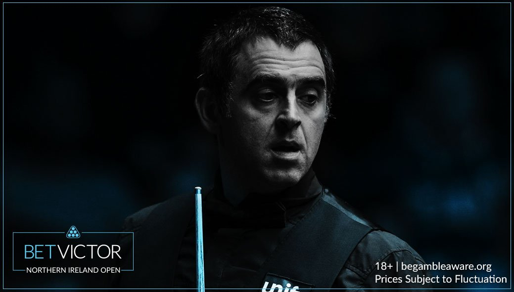 A 64 from Ronnie wasn't enough in a slog of an opening frame here at the #NIOpen.  A tale of two missed browns, but it's Trump who takes the 30 minute long opening frame in the final.