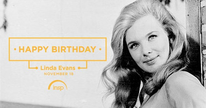 Happy Birthday to the great Linda Evans. Catch her in The Big Valley, tomorrow at 10AM ET.