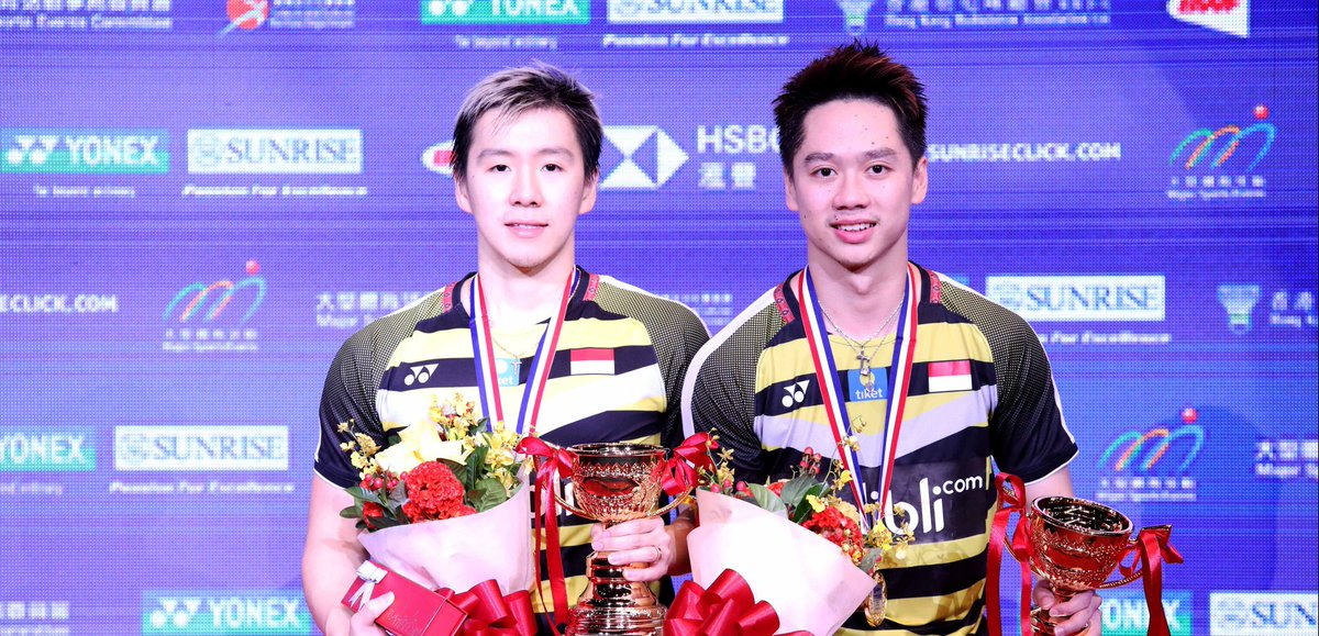 Marcus Gideon dan Kevin Sanjaya menang di Hong Kong Open 2018