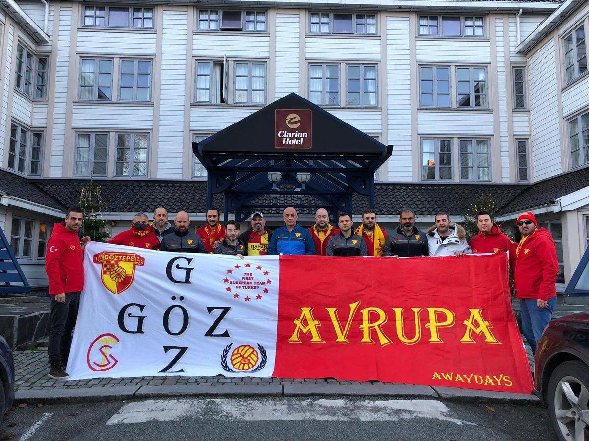 Göztepe'nin Gözgöz Avrupa grubu, Norveç'te hentbol deplasmanında. (📷@goztepe) https://t.co/Xoo4nUmeFF