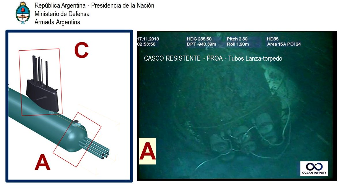 البحرية الأرجنتينية تعلن فقدان الاتصال مع غواصة - صفحة 2 DsSlr7gXoAAZ2TO