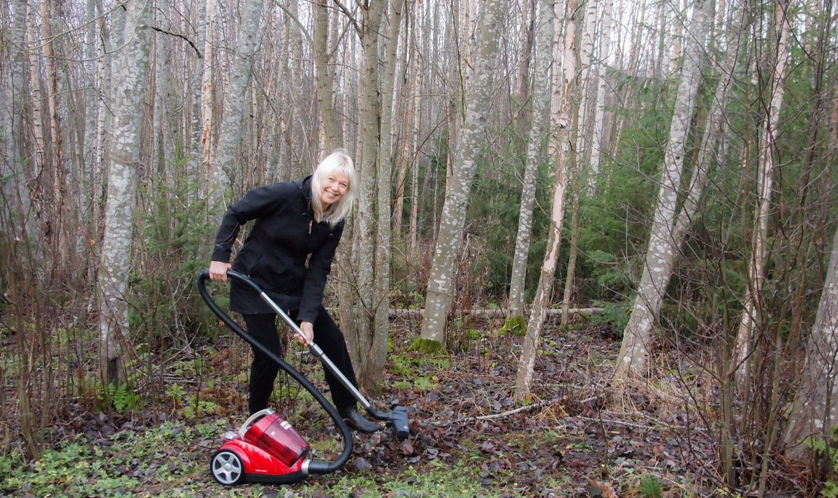Why the people of Finland are trolling Trump by raking the woods