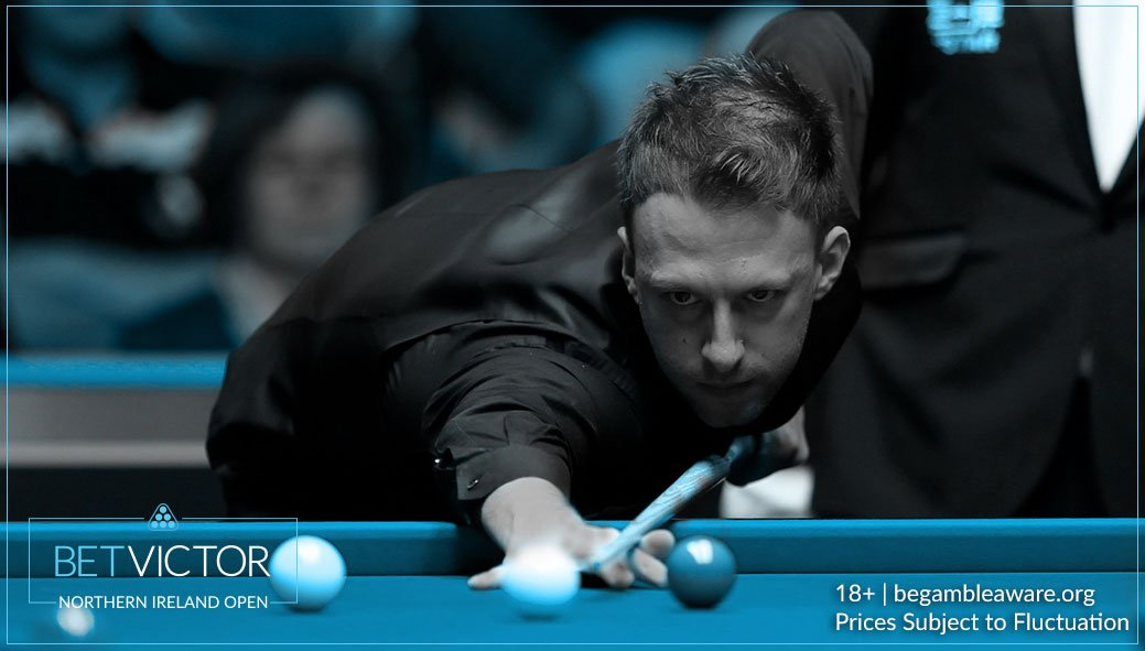 Judd Trump wraps up the first century of the match with a lovely 112 break to tie things up at 2-2 at the interval.  Judd Trump 8/5 Ronnie O'Sullivan 4/9  #NIOpen 📲 https://t.co/ROv138YtKz
