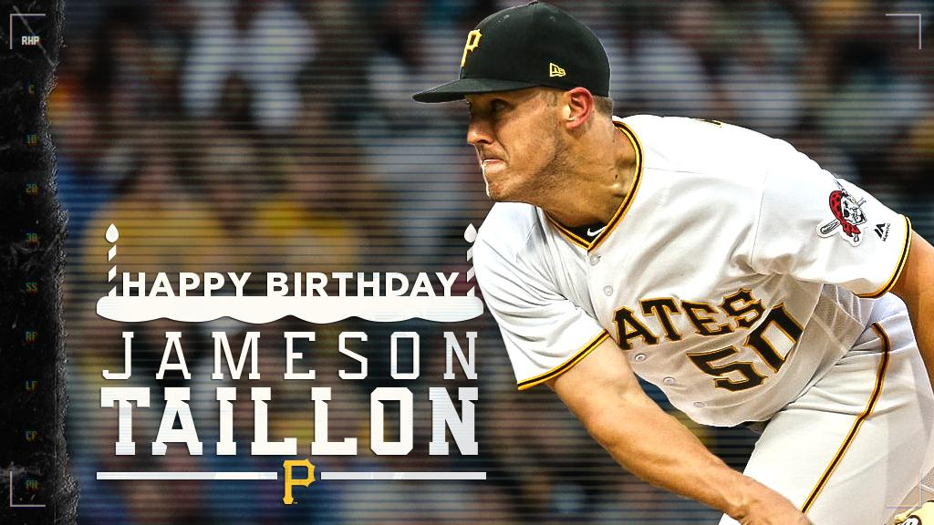 Happy Birthday @JTaillon19! #BuccoBirthdays  Have a birthday blend cup of joe on us today, Jamo. ������ https://t.co/eNR1Eb54r4