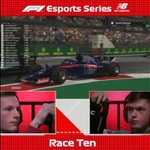 The final #F1Esports race of 2018 did NOT disappoint 😮😮😮
