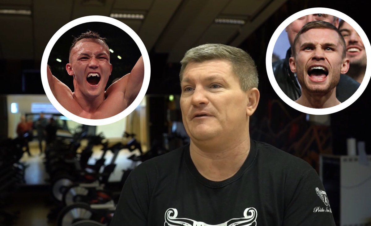 """""""ONE WEEK I THINK JOSH, NEXT WEEK I THINK CARL!"""" 🤷♂️ @HitmanHatton keeps changing his #WarringtonFrampton pick for December 22nd but believes @J_Warrington will be looking to impose his size on @RealCFrampton..."""