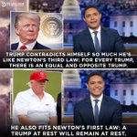 Image for the Tweet beginning: The two laws Trump is