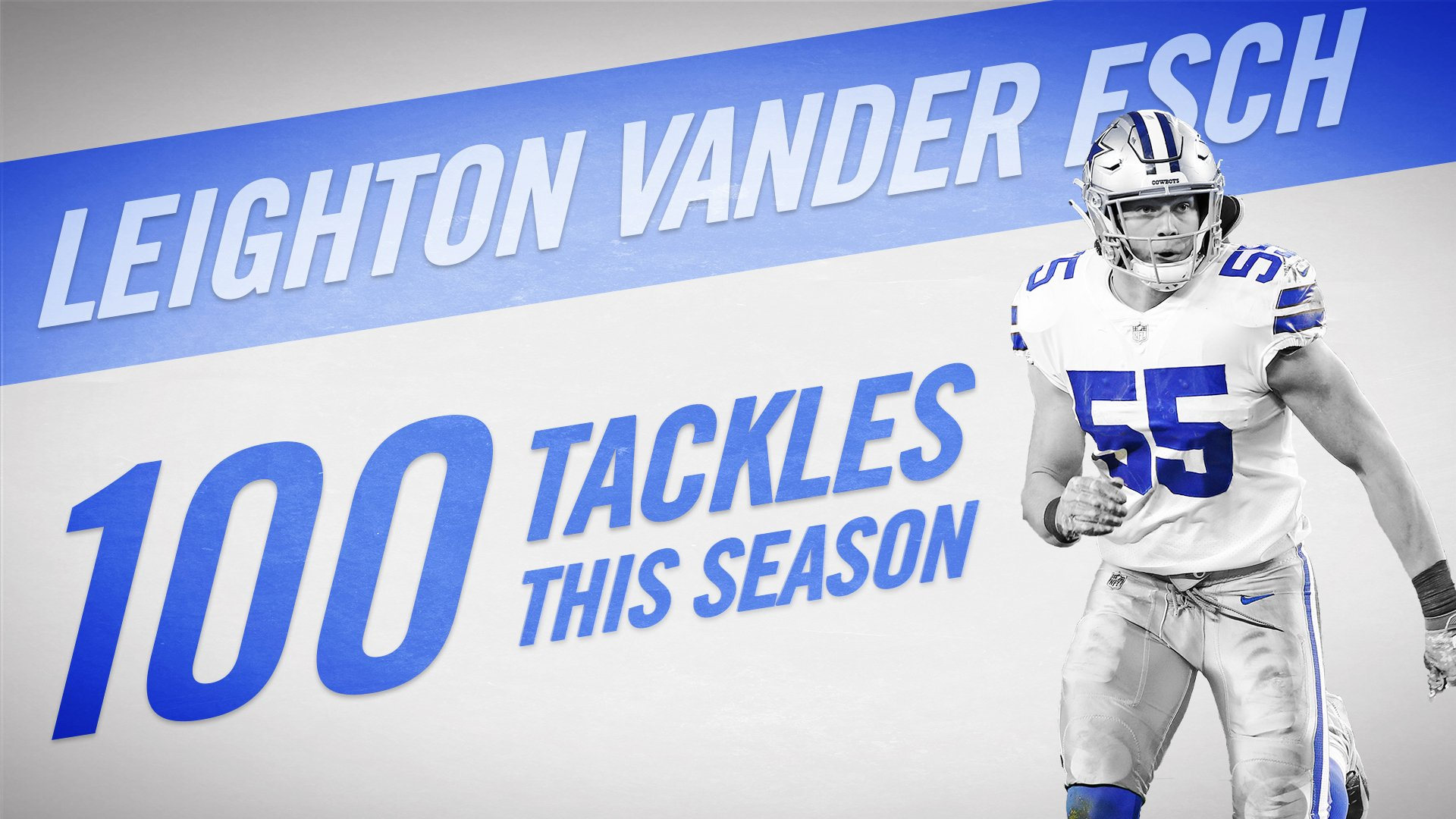.@VanderEsch38 becomes the sixth #DallasCowboys rookie to post �� tackles https://t.co/IUndGKuO69