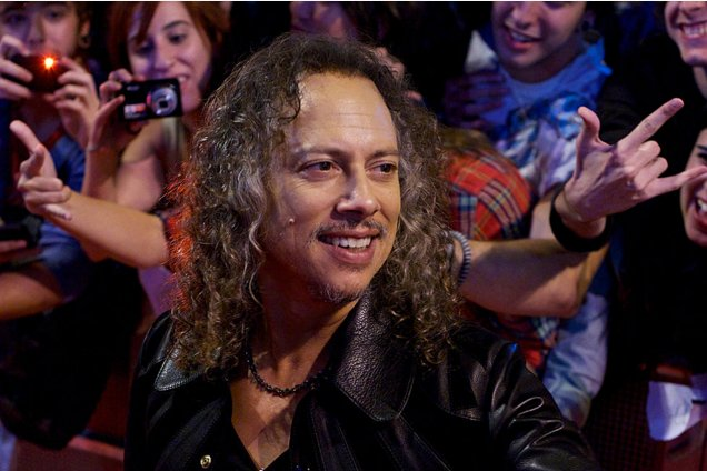Happy Birthday Kirk Hammett of Metallica!