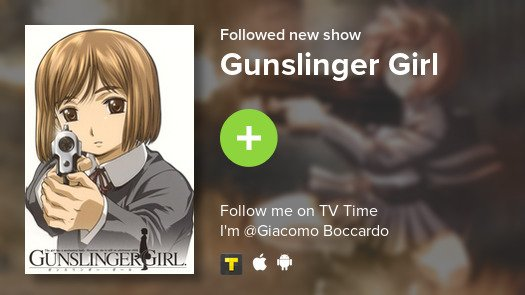test Twitter Media - I just added Gunslinger Girl to my library! #tvtime https://t.co/cvvisO6diq https://t.co/M1h31BlJjR