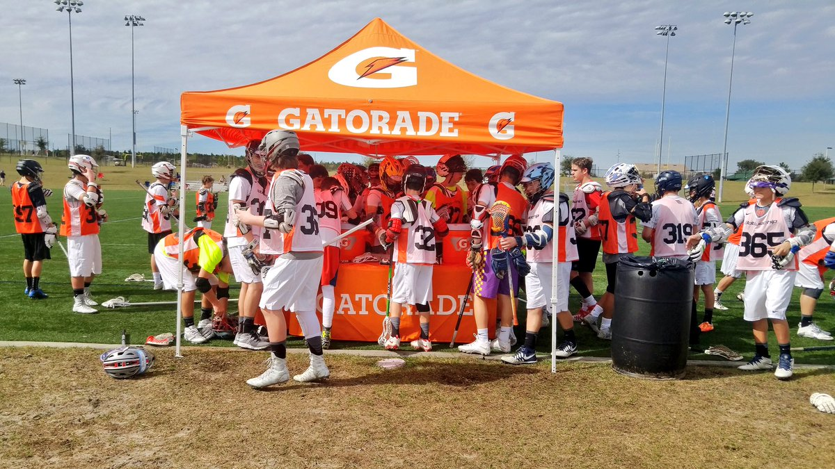 Work hard, fuel hard at the College Bound Series. We appreciate @Gatorade for hydrating our athletes. #GatoradePartner