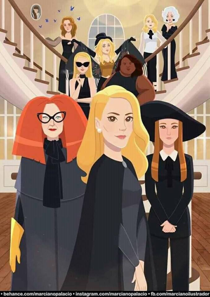 RT @CeceCaryA: This is so cute... I love it... even Nan is there ❤️🥺  #AHSApocalypse https://t.co/EZsAzm795G