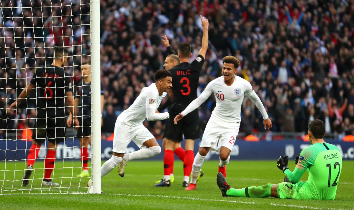 """@ManUtd: 🏴@JesseLingard plays a big part as England reach the Nations League finals! ""well done guys"