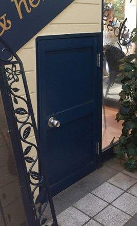隼人くんがくぐったというドアはこれか…?笑結局寝れてないわたしw