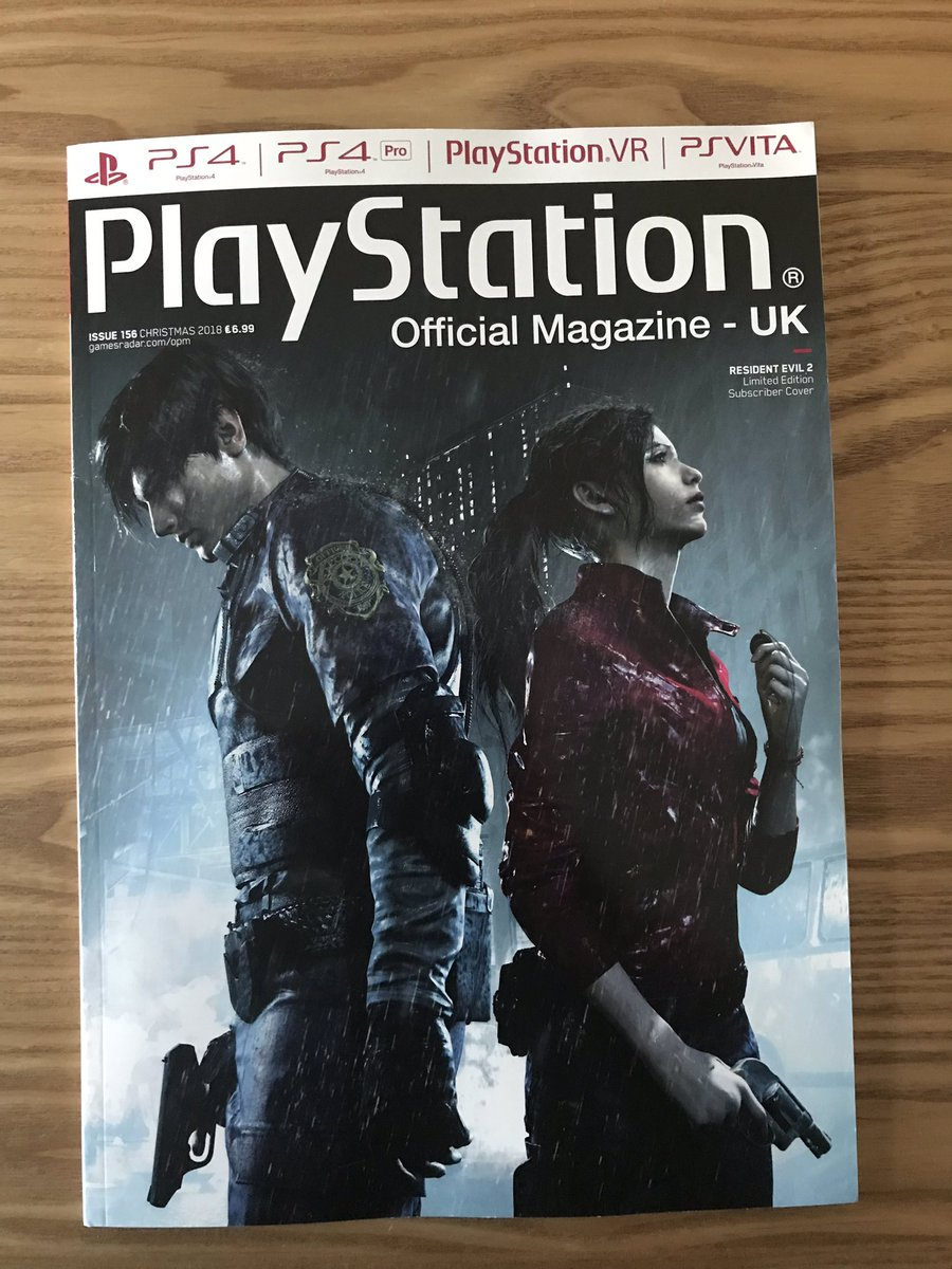 Chris Mcandrew On Twitter Bundle Of Coverage Free Gifts Of Resident Evil 2 Remake In The Latest Issue Of Opm Uk Also Includes A Double Sided Poster Residentevil2remake Https T Co B3c9ucs9kb
