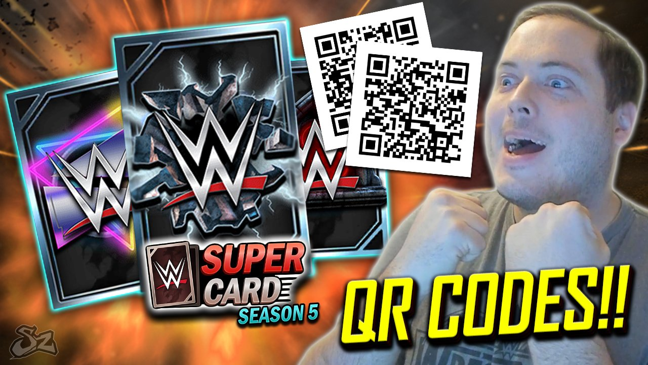 [Images]Qr code wwe supercardA=0|WWE SuperCard on Twitter