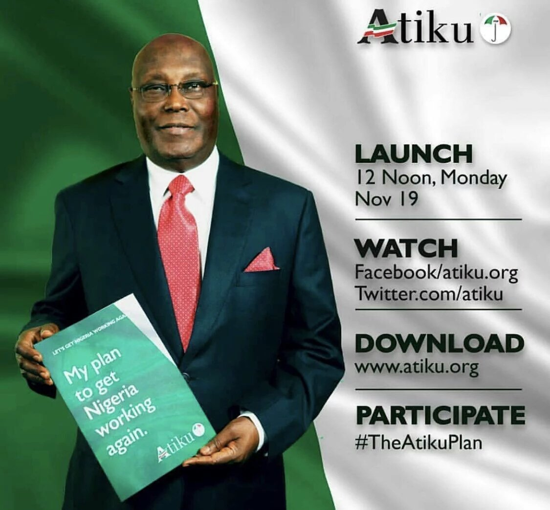 Nigeria brace yourselves...The Super Eagle is about to land.. #atikuconnect #atikuconnectnigeria #TheAtikuPlan <br>http://pic.twitter.com/KyhjLDilbQ