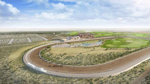 A Las Vegas-based casino executive wants to build a racetrack that features a moving grandstand that speeds alongside the horses as they circle the track  https://t.co/esNc8wl6fc