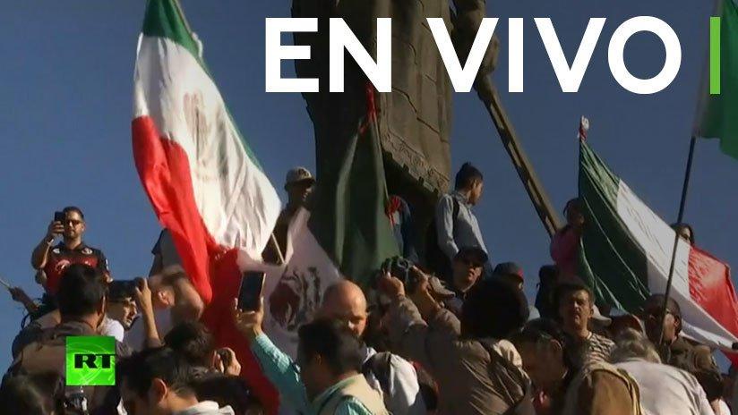 EN VIVO: Ciudadanos de Tijuana protestan contra la llegada de la caravana de migrantes https://t.co/DdIIhYxOlA