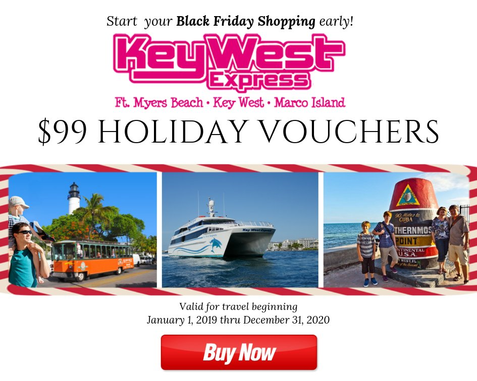 Key West Express On Twitter Ready For Blackfriday Grab