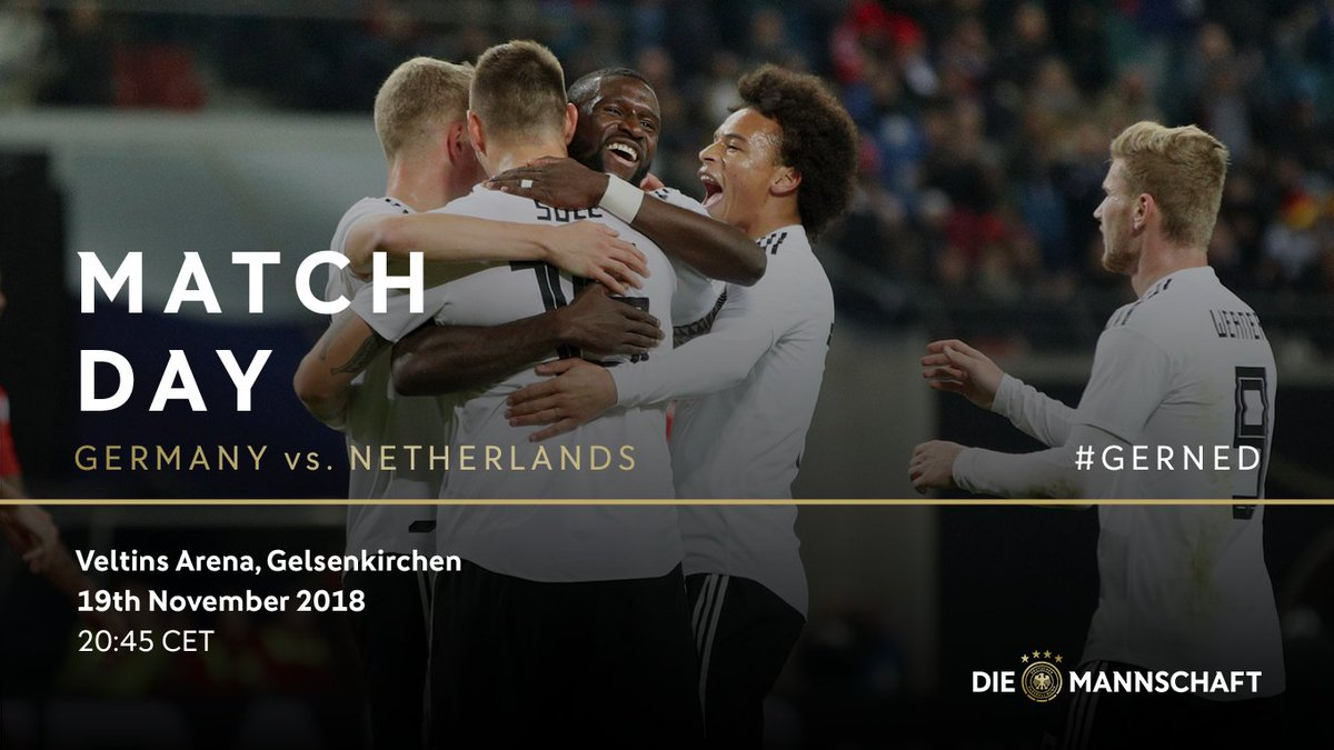 Lets finish the year on a high 🤞 #DieMannschaft #GERNED