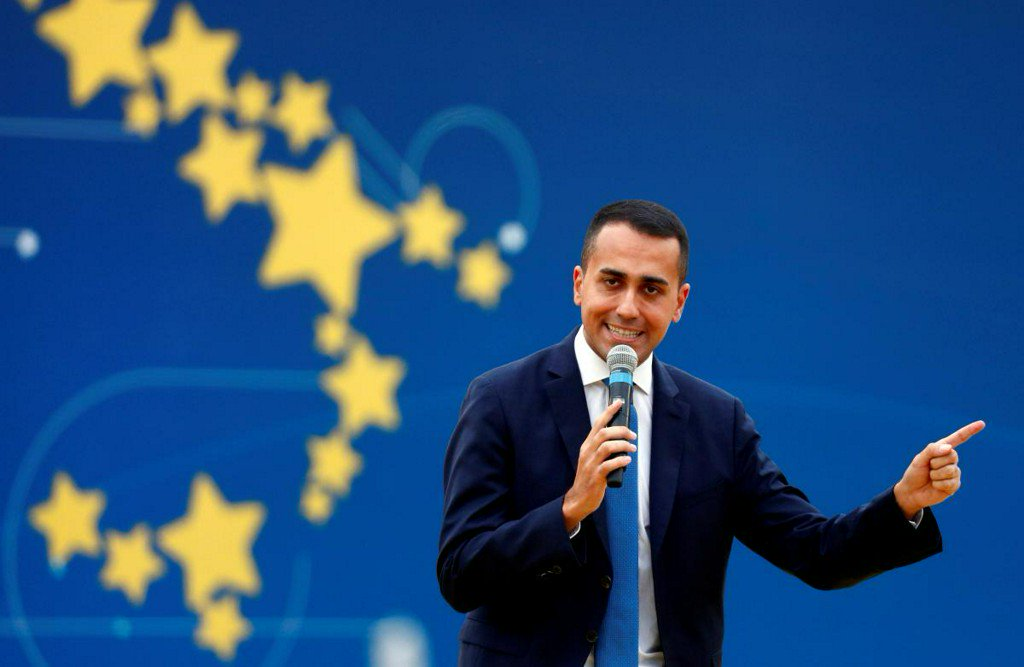 Di Maio says EU election will shake up politics, help Italy https://t.co/aDFAPIRhd8 https://t.co/lWFMhBLE03