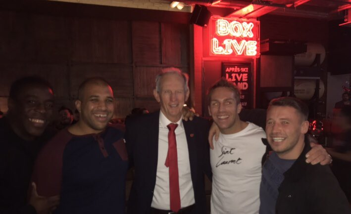 Meeting a real legend of the game last weekend in Wayne Bennett !