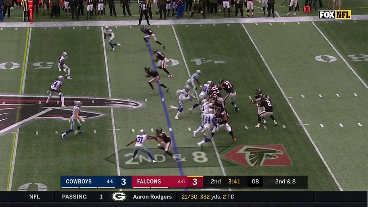 Julio Jones was an All-Pro safety in another life...