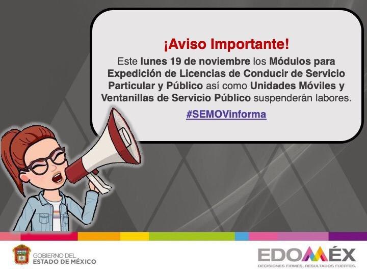 Secretaría Movilidad On Twitter Avisoimportante Si