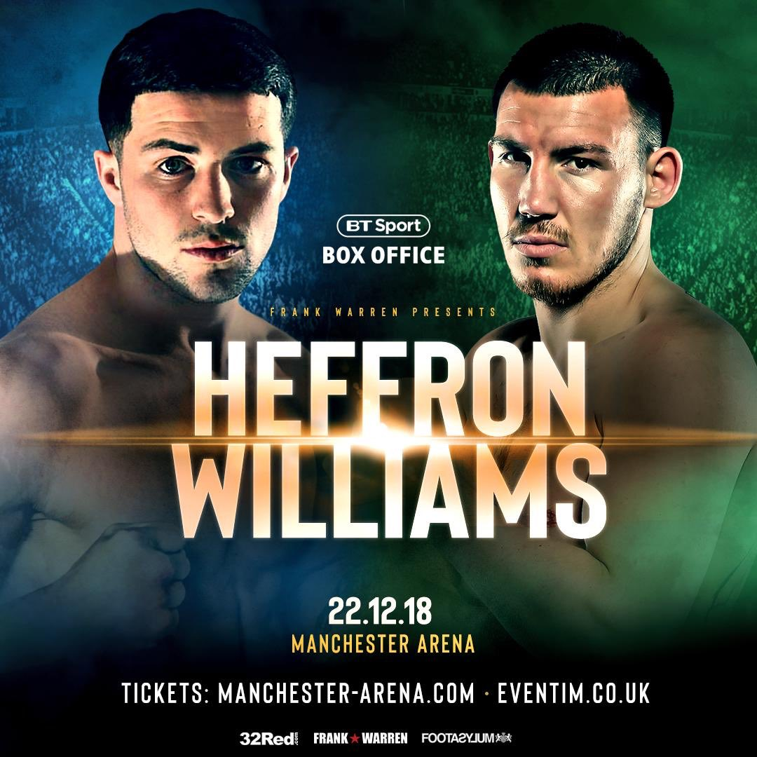 Great weekend home! Nice early night and back to the hard work tomorrow!! Just shy of 5 weeks time I become two weight British Champion! Anyone wanting tickets call 07391 212527 📞 #TeamWilliams @MTKGlobal @frankwarren_tv @BTSportBoxing @ian_WIM