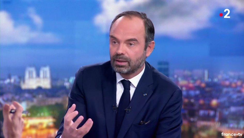 Face aux #GiletsJaunes 'la trajectoire carbone nous allons la tenir' annonce Edouard Philippe sur France 2 https://t.co/PN89QXMh48