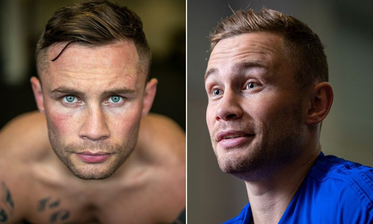 INTERVIEW: Altitude chambers and a new path to the top of the mountain - inside Carl Framptons camp ahead of his showdown with Josh Warrington dailym.ai/2QNHB8O | @_DanMatthews_