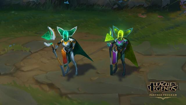Hiya! Riot has given me Program Leblanc codes (NA Only) to share with y'all! Code includes: Leblanc, Program Leblanc code, and the exclusive green chroma that won't be in stores! #LeaguePartner   [Follow + Retweet] for a chance to win! Announcing 7 winners on 11/25!