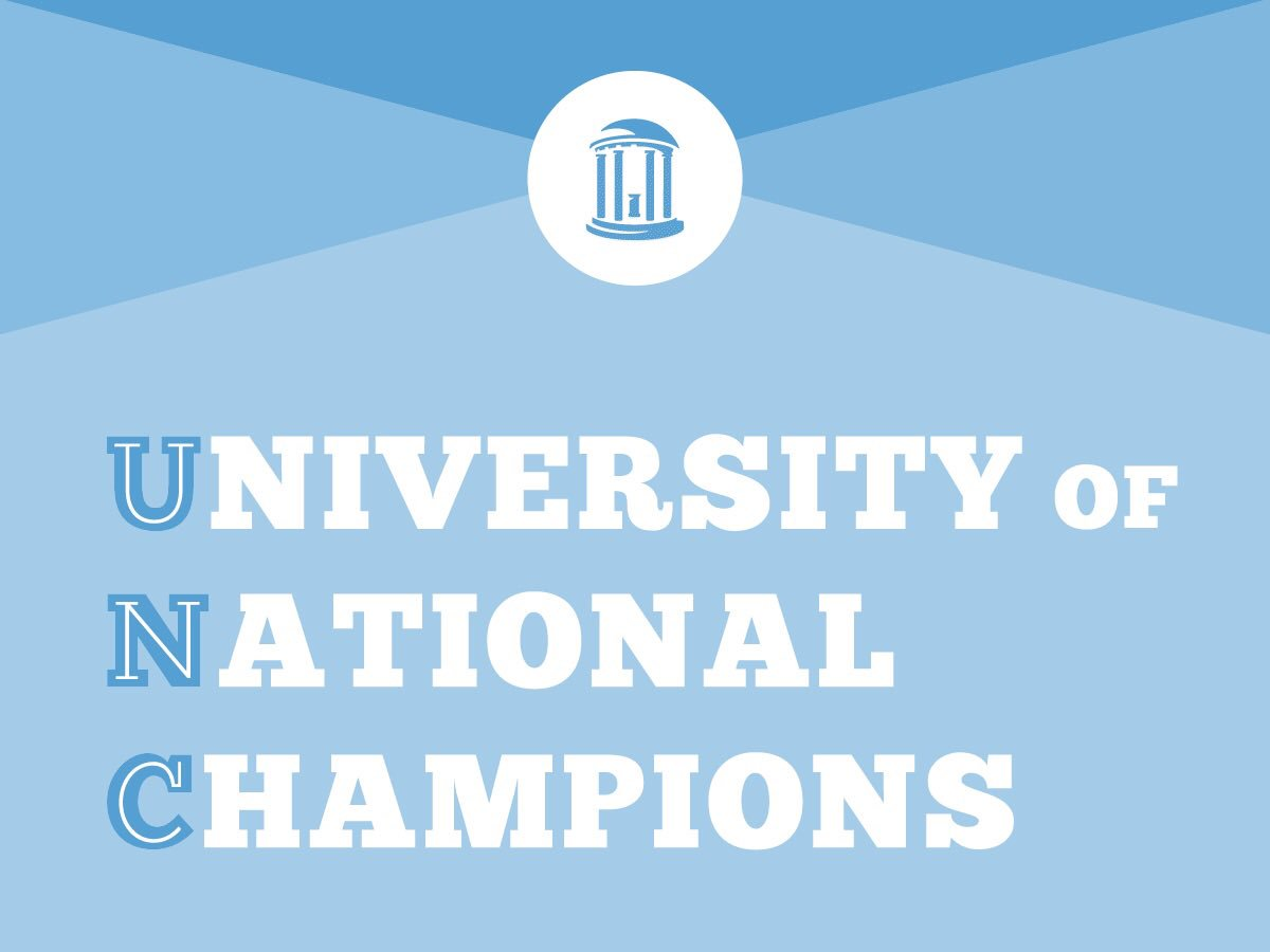 Champions! Congratulations to @UNCFieldHockey on completing a perfect season and claiming today's #NCAAFH title! 🏆 #UNC #GoHeels https://t.co/3MYNFsWQGp