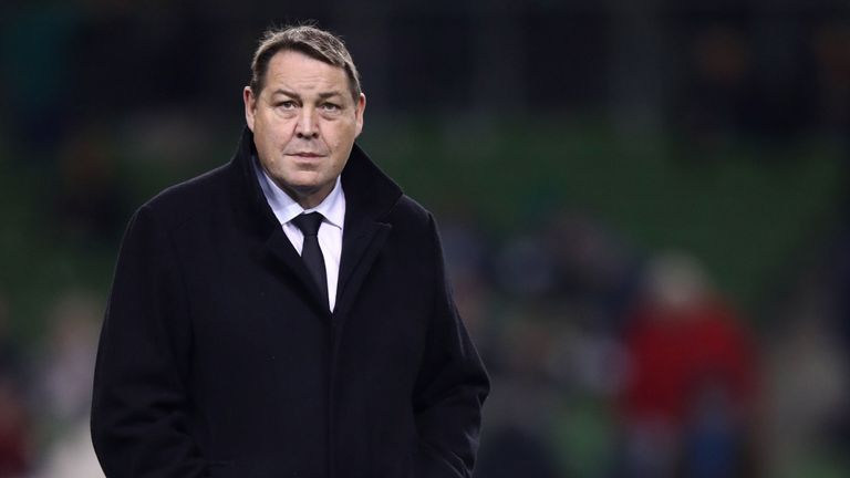 "test Twitter Media - Hansen: Ireland are World Cup favourites 🌍🏆  🗣️ All Blacks boss Steve Hansen hailed Ireland ☘️ as the ""number one team in the world"" following their victory over his back-to-back world champions.  👉 More here: https://t.co/rKzl4yYayM https://t.co/6T4zxmGVTe"