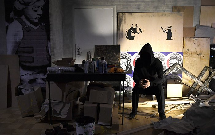 #Banksy Latest News Trends Updates Images - paris_2015