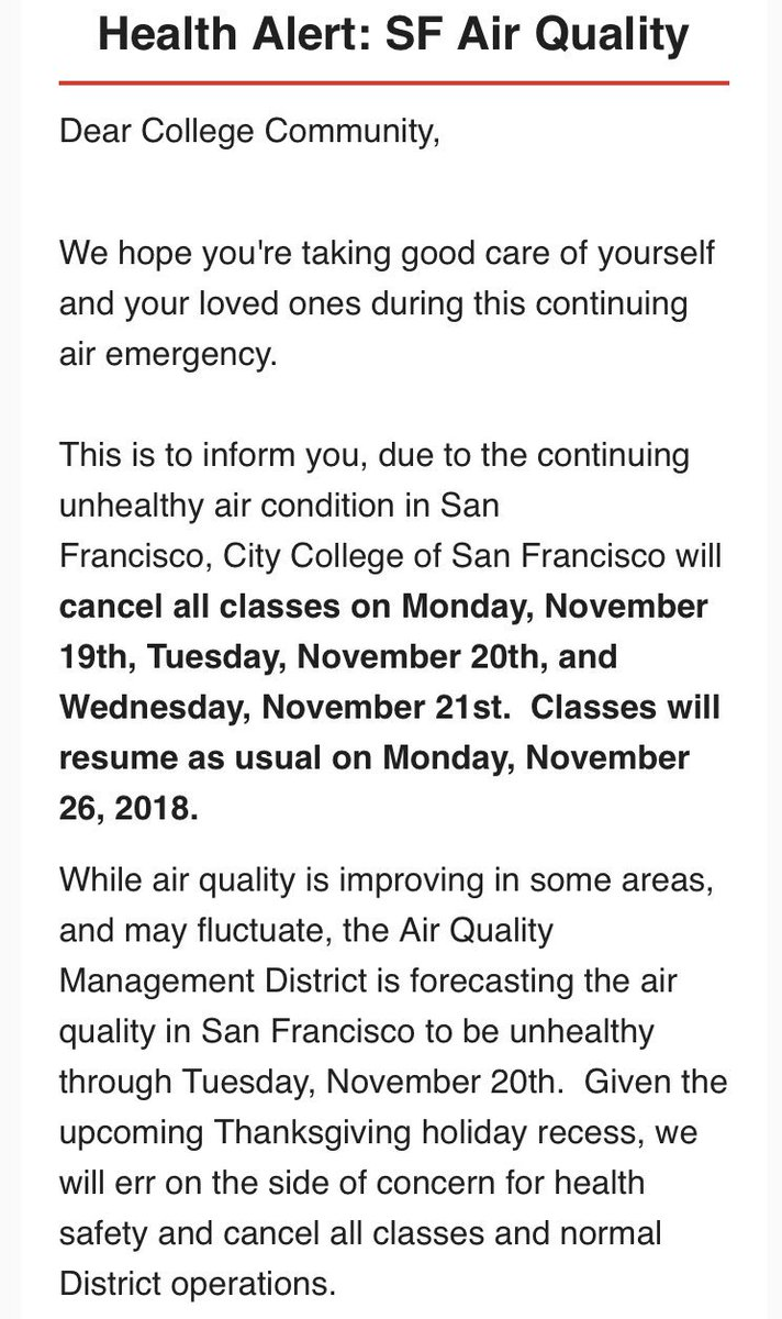 City College Of San Francisco On Twitter Due To Continuing