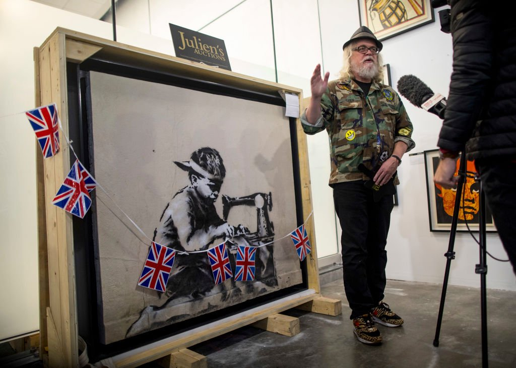 #Banksy Latest News Trends Updates Images - ArtOlympia2019