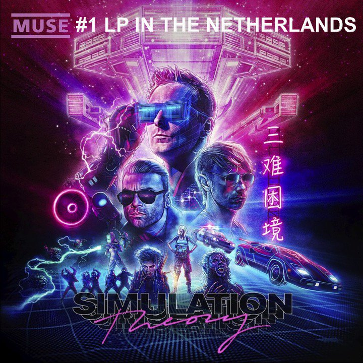 .@muse debuts at #1 on the Dutch Top 100 Albums chart! #Muse👏1⃣🇳🇱💿🔥🌟 https://t.co/4JU1zkPB0X