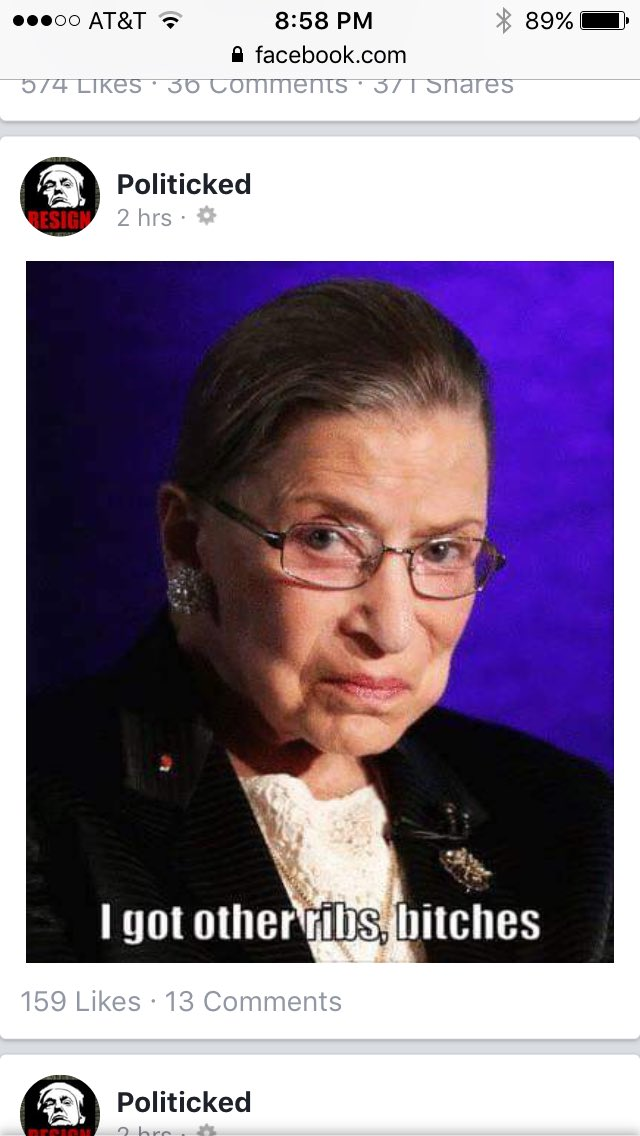 #NotoriousRBG Latest News Trends Updates Images - sharie_kaye