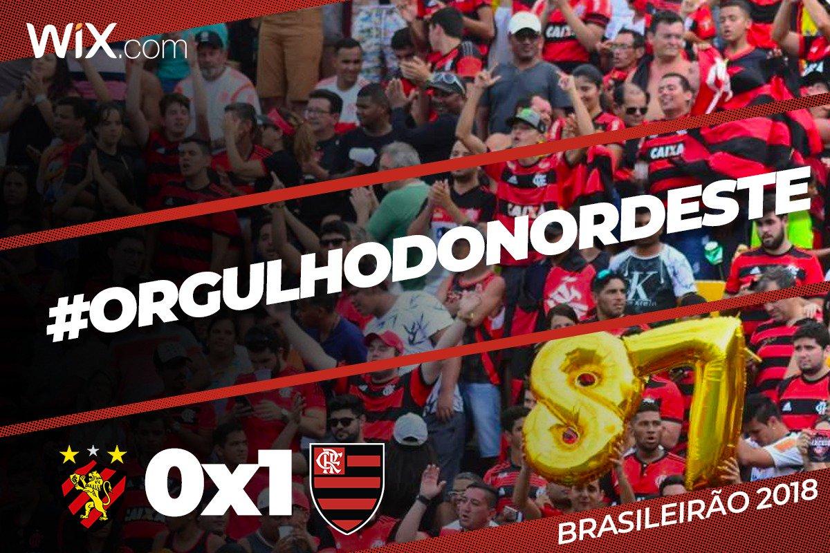Na raça e com um a menos, Flamengo vence Sport por 1 a 0 com gol de Willian Arão, se mantém na briga pelo Brasileirão, faz a alegria da torcida que mais uma vez encheu a Ilha do Retiro e mostra que é o #OrgulhoDoNordeste  Vem pro @NacaoCRF: https://t.co/FnBbDiNxUt